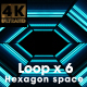 Hexagon Space - VideoHive Item for Sale
