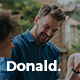 Donald - Personal Onepage HTML Template