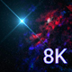 8k Bright Star Of The Color Nebula - VideoHive Item for Sale