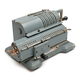 Grey vintage mechanical pinwheel calculator - PhotoDune Item for Sale