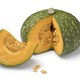 Fresh Kabocha winter squash and a piece - PhotoDune Item for Sale
