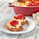 Baked ricotta sandwiches - PhotoDune Item for Sale