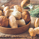 Bowl of porcini mushrooms - PhotoDune Item for Sale
