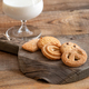 Butter cookies wit glass of milk - PhotoDune Item for Sale