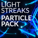 Light Streaks Particle Pack - VideoHive Item for Sale