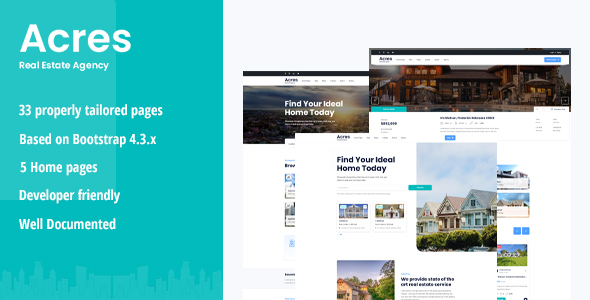 Acres - Real Estate HTML5 Template