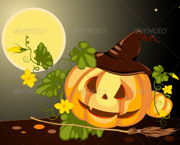 Halloween Pumpkin - Halloween Seasons/Holidays
