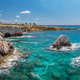 Landscape With Green Sea and Blue Sky, Ayia Napa, Cyprus - PhotoDune Item for Sale