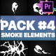 Smoke Elements Pack 04 | Premiere Pro MOGRT