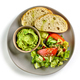 plate of salad and guacamole - PhotoDune Item for Sale