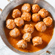Homemade meatballs in a spicy tomato sauce - PhotoDune Item for Sale