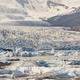 Fjallsarlon icebergs and glacier lagoon. Stunning white landscape in Iceland - PhotoDune Item for Sale