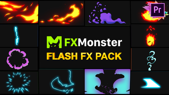 Flash FX Elements | Premiere Pro MOGRT