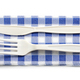 white cutlery for take away - PhotoDune Item for Sale