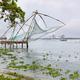 Tradional Chinese fishing nets in Cochin, Kerala, India - PhotoDune Item for Sale