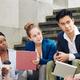 Coworkers looking at speaking businessman - PhotoDune Item for Sale