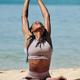 Woman enjoying back stretch - PhotoDune Item for Sale