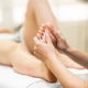 Medical massage at the foot in a physiotherapy center - PhotoDune Item for Sale