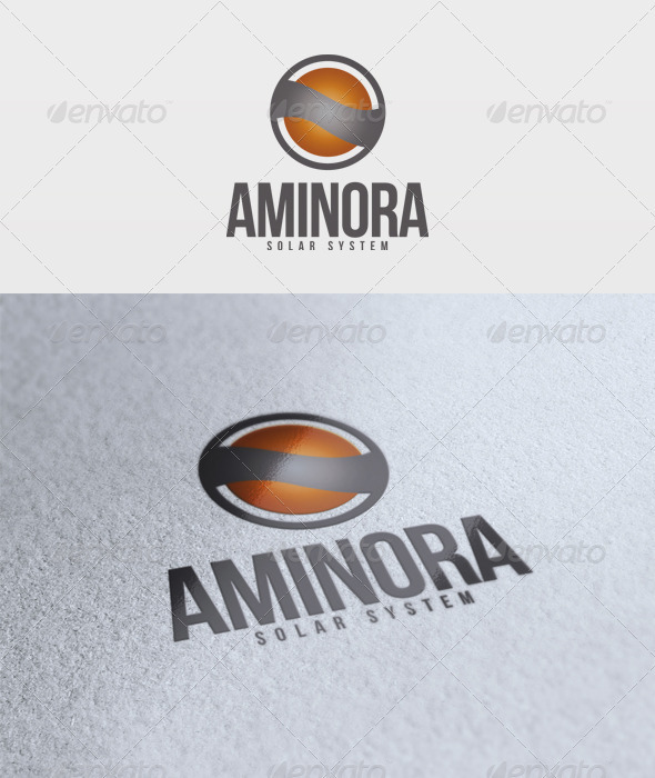 Aminora Logo - 3d Abstract