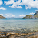 Palawan, Philippines. Panoramic picture of El Nido bay on summer sunny day. Picturesque coastline - PhotoDune Item for Sale