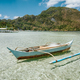 El Nido bay. Palawan island, Philippines. Filippino fishing boat in shallow water lagoon. Exotic - PhotoDune Item for Sale
