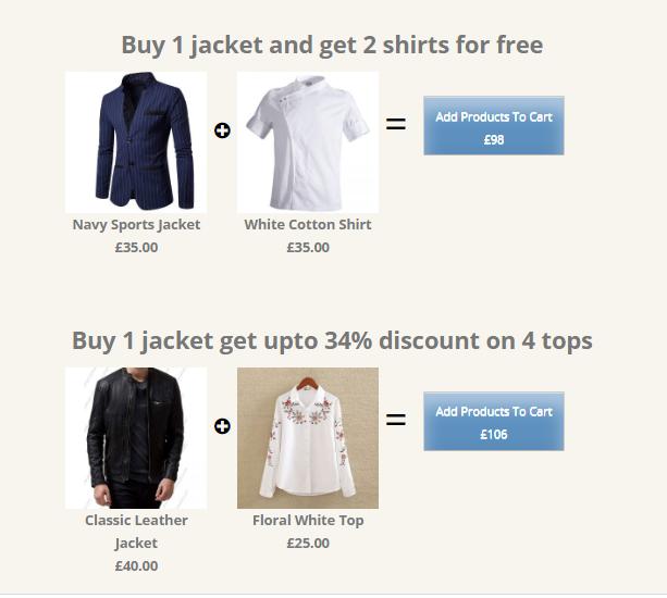 Bundle Products and Discounts Plugin- Product Bundles - 1