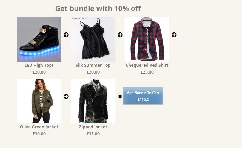 Bundle Products and Discounts Plugin- Product Bundles - 2