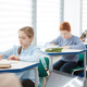 Children Studying in School Classroom - PhotoDune Item for Sale