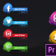 Social Media 3D Lowerthirds - Premiere Pro - VideoHive Item for Sale