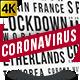 Corona Virus Titles - VideoHive Item for Sale