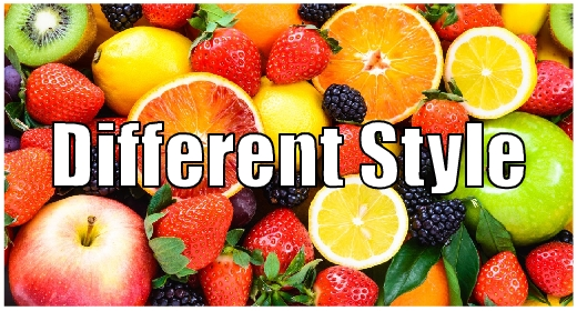 Differents style