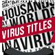Covid 19 Coronavirus Headline Countries Stats - VideoHive Item for Sale
