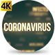 Coronavirus Countries Cinematic - VideoHive Item for Sale