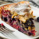 Homemade Summer Berry Buckle Cake - PhotoDune Item for Sale