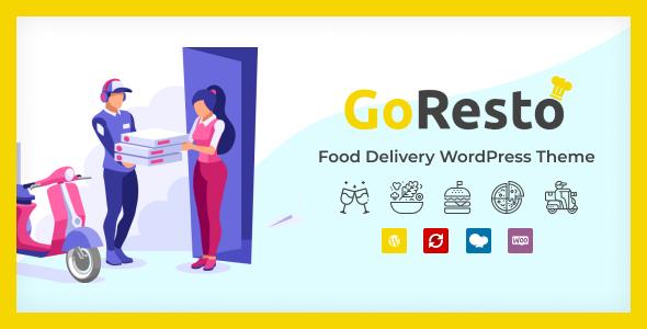 GoResto - Restaurant Food Delivery WordPress Theme