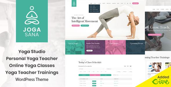 Download Jogasana – Yoga Oriented WordPress Theme Free Nulled