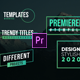 Modern Titles- Premiere Pro - VideoHive Item for Sale