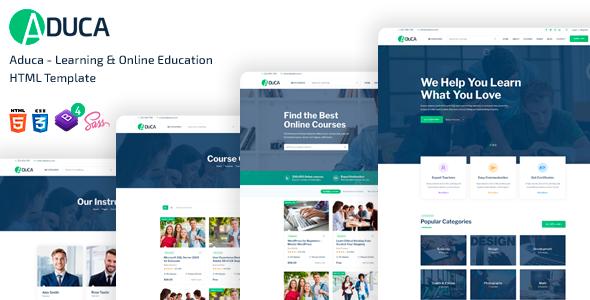 Aduca - Education HTML5 Template by TechyDevs