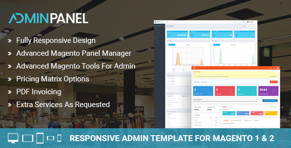 Magento 2 Responsive Admin Template