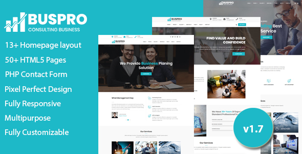 Buspro - Multipurpose Business and Corporate Template by validthemes
