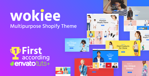 Wokiee - Multipurpose Shopify Theme Nulled