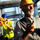 Portrait of construction architects, engineers working on building site - PhotoDune Item for Sale
