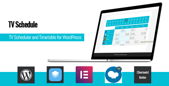 TV Schedule and Timetable for WordPress