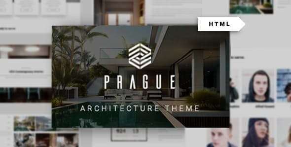 Prague - Architecture HTML Template by fox-themes