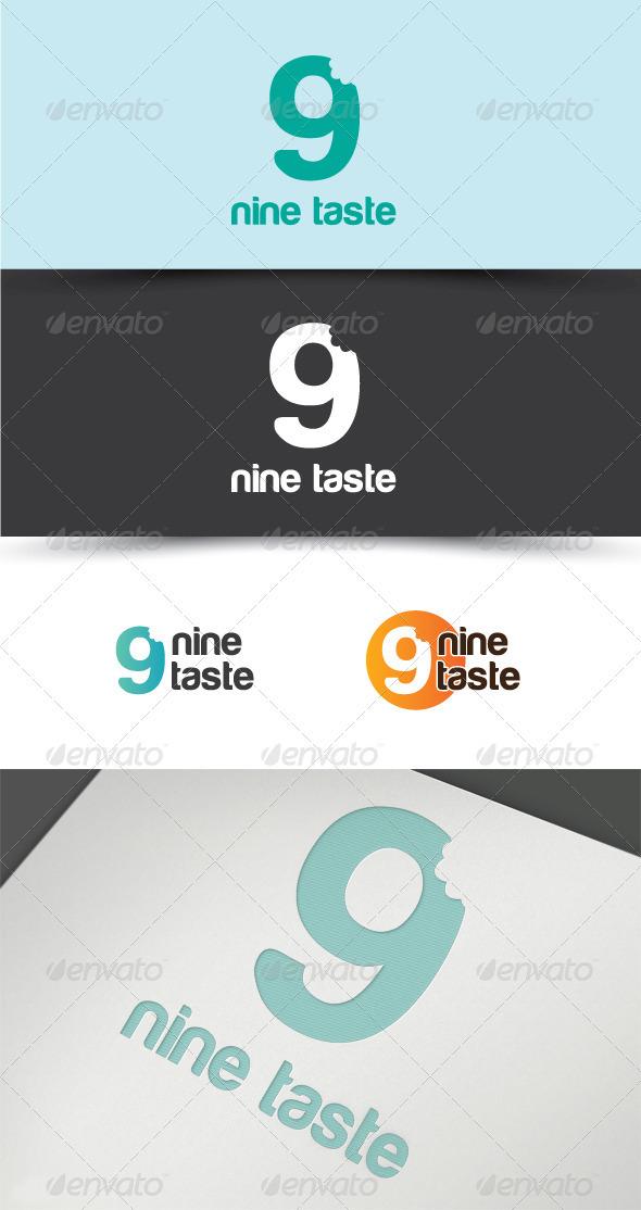 9-TASTE - Numbers Logo Templates