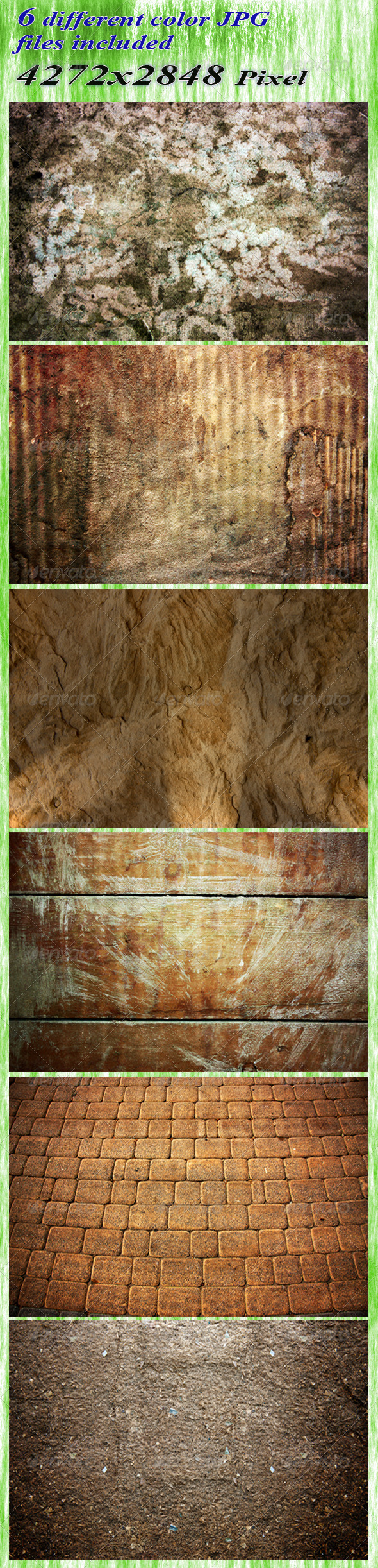 Natural backgrounds - Miscellaneous Textures
