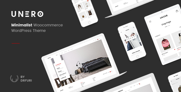Unero - Minimalist AJAX WooCommerce WordPress Theme