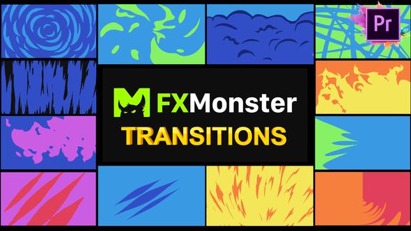 Stylish Transitions | Premiere Pro MOGRT