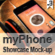 myPhone Showcase Mock-up V.3 - GraphicRiver Item for Sale