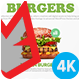 Restaurant Food Menu Promotion - Vegan - VideoHive Item for Sale